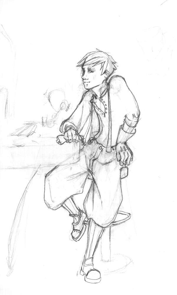 Steampunk- Bar Boy by morrigun on deviantART