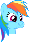 No real title, just Dashie being adorable