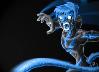 Mistical Monkey Power by Tymofey