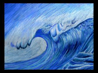 Wave - Postcard