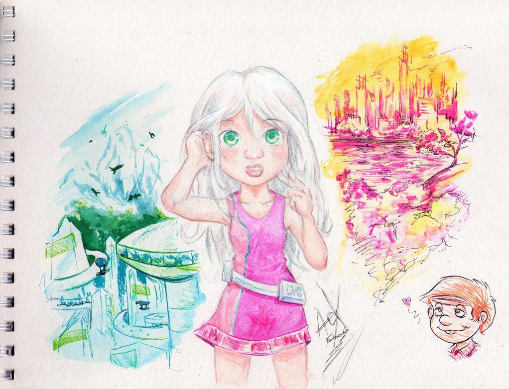 M, O y R: Rena - Doble Futuro by Adept-eX