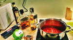 Spaghetti Pasta sauce with Jack Daniels