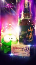Yamazaki 12 Year Old Whisky - Abstract Edit