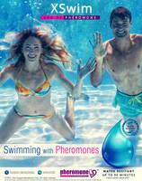 XS Swim - Swimming with Pheromones / test design by idlebg
