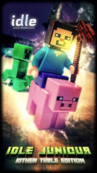 Lego Minecraft - Kitchen table edition