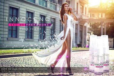 Innocence XS Variant 1 -  Pheromone Spray Banner