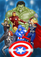 The Avengers by ToreTheCimmerian