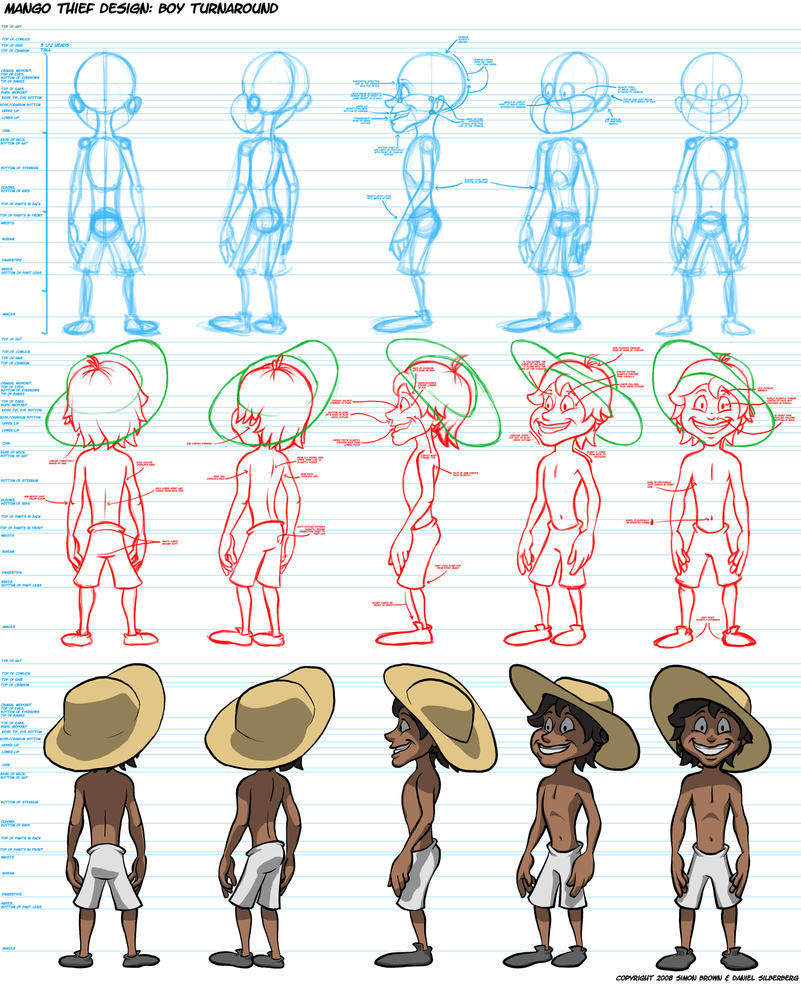 Character Design Questionnaire : Animation oc turnaround by dsil on deviantart