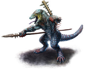 Reptilian Design: Male Final by DSil