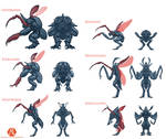 Insectoid Classes