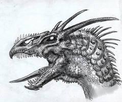 Dragon Head by DSil