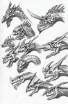 Dragon Sketches 03
