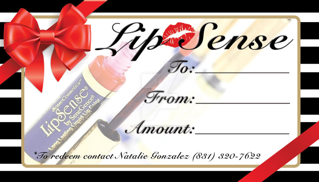 Lipsense gift certificate by angeladesigns on deviantart lipsense gift certificate by angeladesigns yadclub Image collections