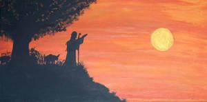 sunrise for the shepherd