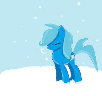 Winter Pony by DreamArt321