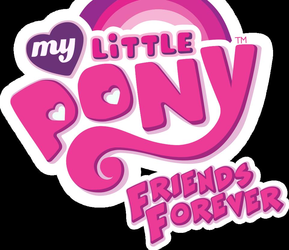 MLP Friends Forever Comic Logo LARGE By FiMStargazer