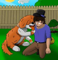 Playtime with Doggo by FiMStargazer