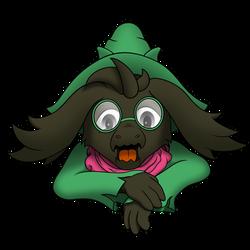 Fluffy Boy Ralsei! by FiMStargazer