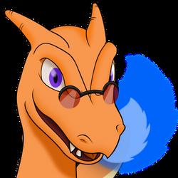 BlueFlameCharziard - Profile Picure