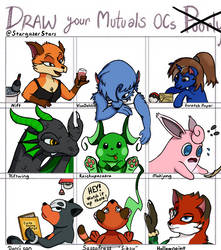 Draw Your Mutual OCS Poorly Challenge