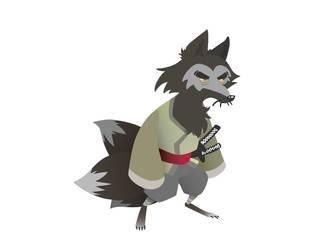 Nigiri the Kitsune VECTOR by Ryanmaster