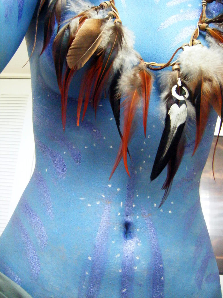 Neytiri feather necklace by Official-AmyFantasy