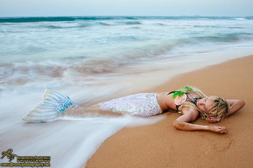 Pearl mermaid by AmyFantasea