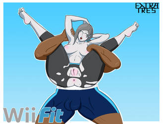 Workout with the Wii Fit Trainer by ExtraTres