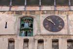 old wall clock stock