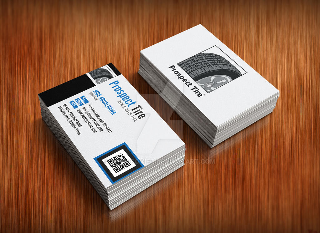 Prospect tire business card by samosoviet on deviantart prospect tire business card by samosoviet colourmoves