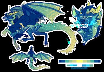 Legendary Galamutt #96- Electric Dragon | closed | by Hatonni