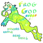 Discord Raffle - Frog God - closed by Hatonni