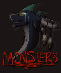 Monsters - Cover Art by NoodleMimi