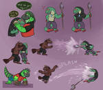 Introducing Tial the [little] Lizard Wizard! by Spinopsys