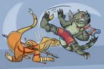 AF9: Martial Arts: Serpent and Argonian!