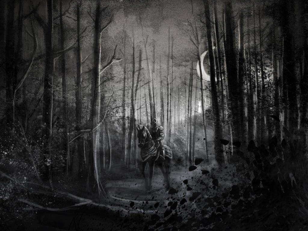 Somnolent knight by Nisato