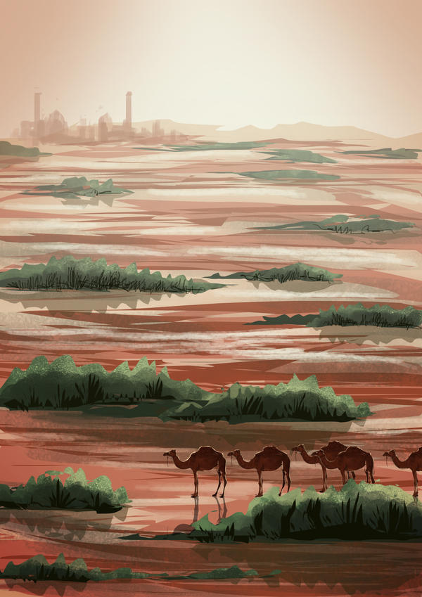 Location: desert by Nisato