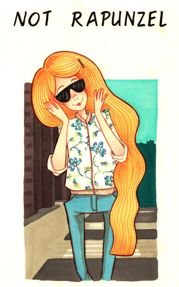 Not Rapunzel by Nisato
