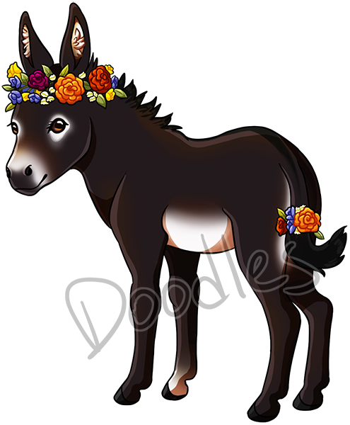 donkey_flower_watermarked_by_makcake-dclqhul.png