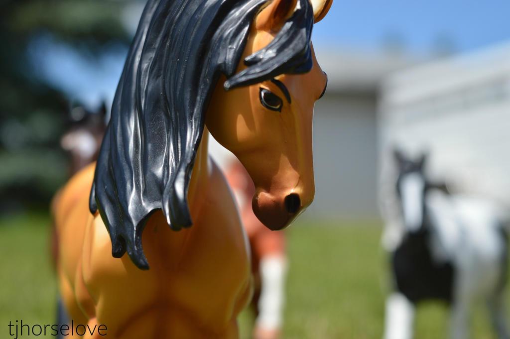 Spirit's herd by tjhorselove