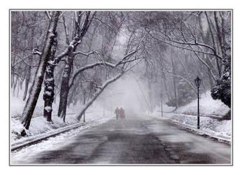 Winter Postcard by smagliczka