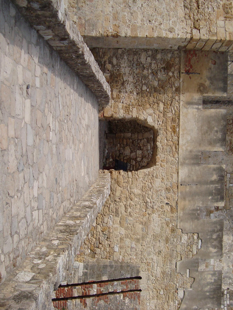 Bridge into the Castle by Lusitana-Stock