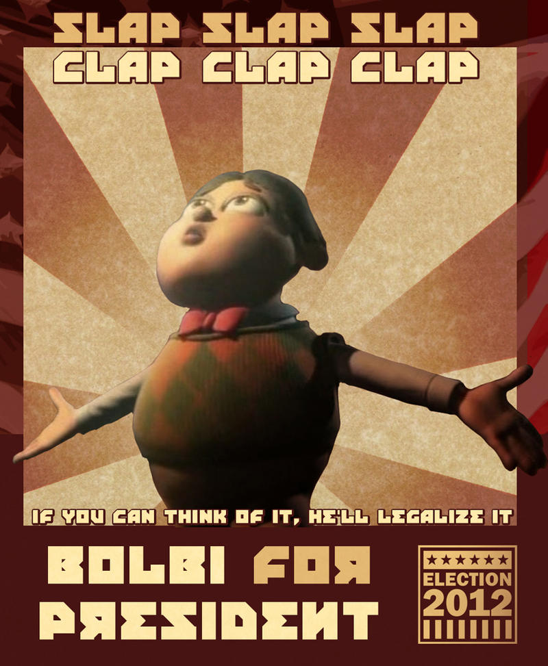 Bolbi for President by Mara