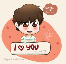 {KyuHyun} For Lis~ by LadyHee