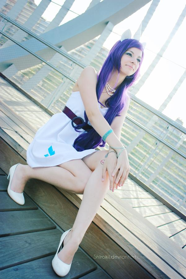 MLP:Friendship is Magic -  Rarity by Shirokii