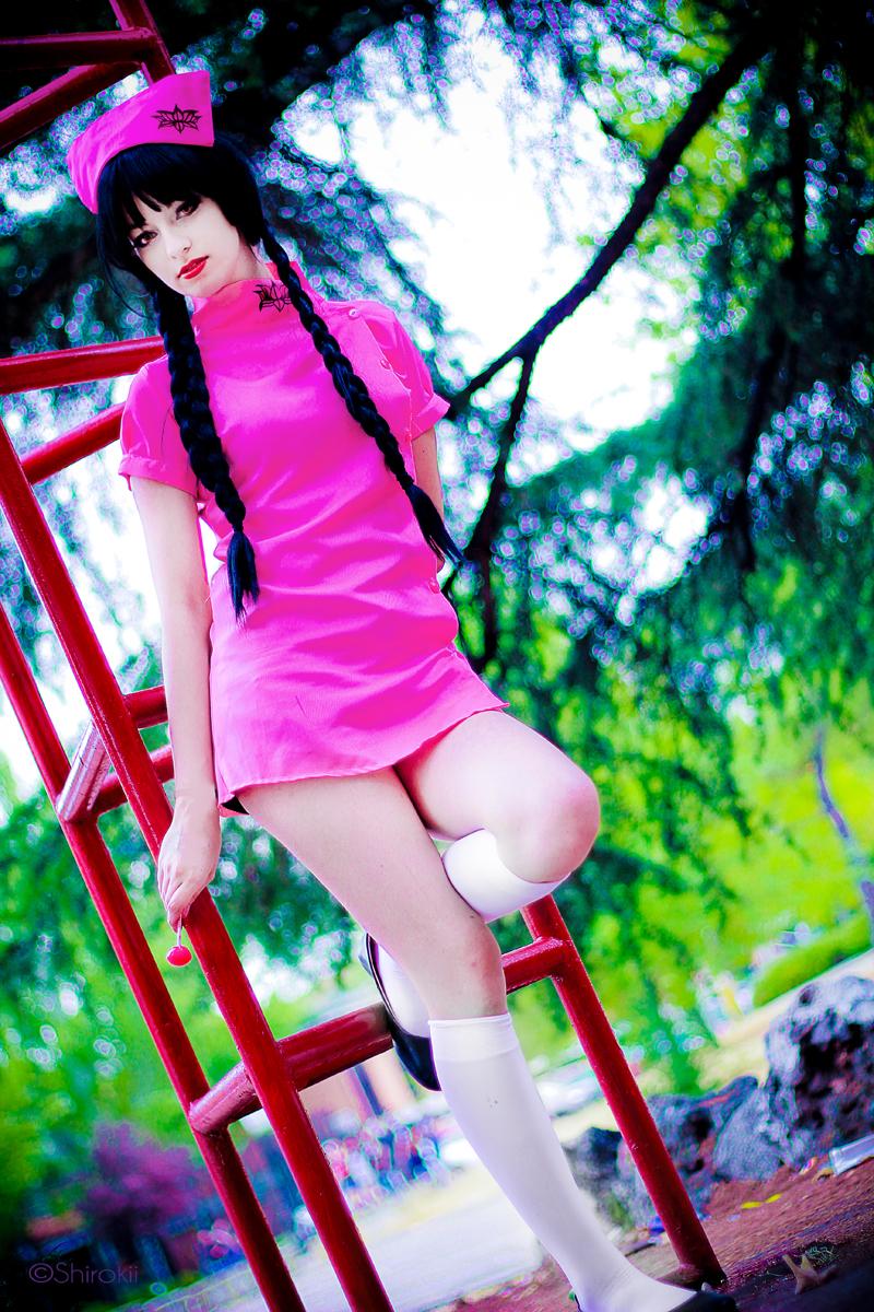 The west witch Okino Mayoko - Zone-00 by Shirokii