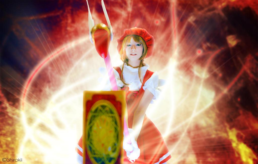Release!! - CardCaptor Sakura by Shirokii