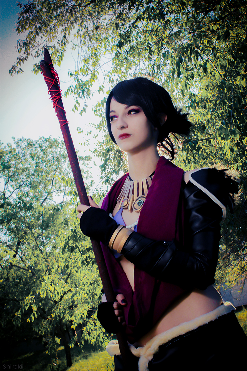 Morrigan - Dragon Age Origins by Shirokii