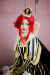The sadness of  Queen Esther - Trinity Blood
