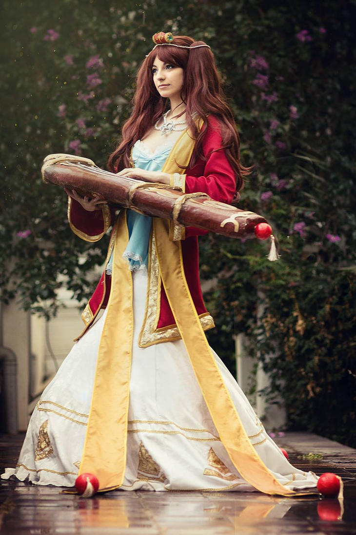 Guqin Sona - League of Legends by Shirokii on DeviantArt